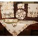 Xia Home Fashions Autumn Forest Cutwork Embroidered Table Runner