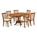 East West Furniture Portland 7 Piece Dining Set