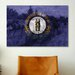 iCanvas Kentucky Flag, the Kentucky Derby with Paper Grunge Graphic Art on Canvas