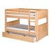 Camaflexi Camaflexi Low Twin Bunk Bed with Twin Trundle