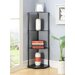 "Convenience Concepts Midnight Corner 46.5"" Corner Unit"