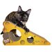 Imperial Cat Scratch n' Shapes Small Cheese Recycled Paper Scratching Board