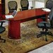OSP Furniture Mendocino Oval Conference Table