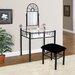 Hazelwood Home Vanity Set with Mirror