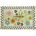Homefires Groovy Dragonfly Blue/Green Area Rug
