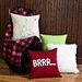 Brite Ideas Living Passion Suede Throw Pillow