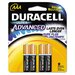 Duracell Ultra Alkaline Batteries, AAA, 8/pack