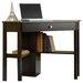 Sauder Beginnings Corner Computer Desk with Keyboard Tray
