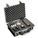 """Pelican Products Watertight Case with Foam: 14"""" x 18.5"""" x 7"""""""
