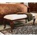 American Drew Cherry Grove Wooden Bedroom Bench