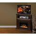 Dimplex Montgomery TV Stand with Electric Ember Bed Fireplace
