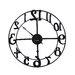 "Uttermost Oversized 32.25"" Delevan Wall Clock"