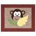 Sweet Jojo Designs Monkey Collection Floor Rug