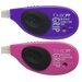 Tombow Mono Side Action Grip Correction Tape, Purple/Pink (2-Pack)