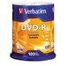Verbatim Corporation Spindle Dvd-R Discs, 4.7Gb, 16X, Spindle, 100/Pack