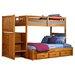 Weston Twin Over Full Storage standard Customizable Bedroom Set