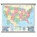 Universal Map Beginner Wall Map - U.S.