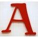 New Arrivals New Capital Letter Hanging Initials