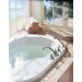 Moen Kingsley 2-Handle Deck-Mount Roman Tub Faucet with Handshower (Valve Not Included)