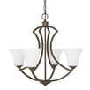 Capital Lighting Sydney 4 Light Candle Chandelier