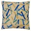Jiti Pixel Cotton Throw Pillow