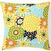 Jiti Bloom Cotton Throw Pillow