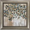 Propac Images 'A Teal Tree' Framed Graphic Art