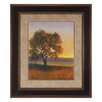 Propac Images Custom Firelight I Framed Painting Print