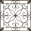 Paragon Aged Floral Panel Wall Décor