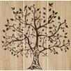 Paragon Tree of Life 3 Piece Graphic Art Plaque Set