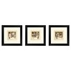 PTM Images Bath Vintage Bath Framed Painting Print Set