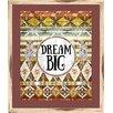 PTM Images Boho Dream Big Framed Painting Print