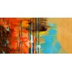 PTM Images Colorful Complexity Painting Print on Wrapped Canvas