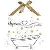 PTM Images Happiness Graphic Art on Plaque