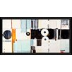 PTM Images Convergence by Lisa Kowalski Floater Framed Painting Print