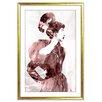 PTM Images Glamour  Framed Graphic Art
