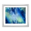 PTM Images Watercolor Navy Blue II Framed Graphic Art