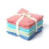 Textiles Plus Inc. Luxury Hotel/Spa Assorted Wash Cloth (Set of 8)