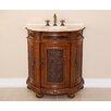"Global Treasures Anna 31"" Single Demilune Bathroom Vanity Set"