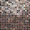 "Daltile City Lights 0.5"" x 0.5"" Glass Mosaic Tile in Monte Carlo"