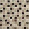 "Daltile Keystones Blends 1"" x 1"" Porcelain Mosaic Tile in Sunset Cove"