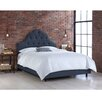 Skyline Furniture Linen Upholstered Panel Bed