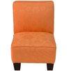 Skyline Furniture Kids Slipper Chair in Orange