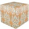 Skyline Furniture Cotton Cube Ottoman