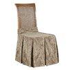 Sure-Fit Matelasse Damask Chair Slipcover