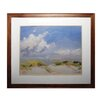 Sterling Industries Clouds Framed Painting Print