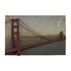 Sterling Industries Golden Gate Bridge Graphic Art Plaque