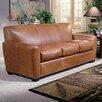 Omnia Furniture Jackson Leather Sofa