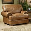 Omnia Furniture Houston Leather Chair