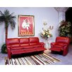 Omnia Furniture Luxor Leather Living Room Set
